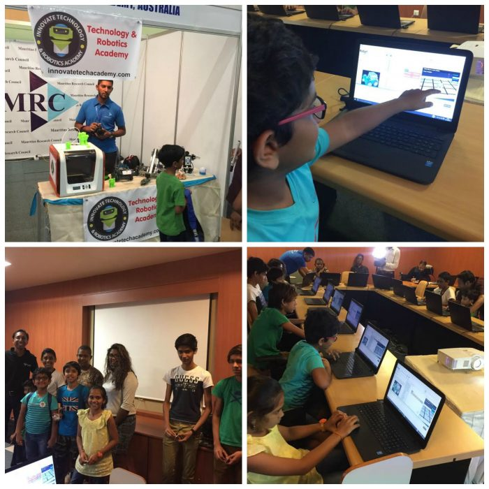 Innovate Academy conducts STEM workshops in Mauritius