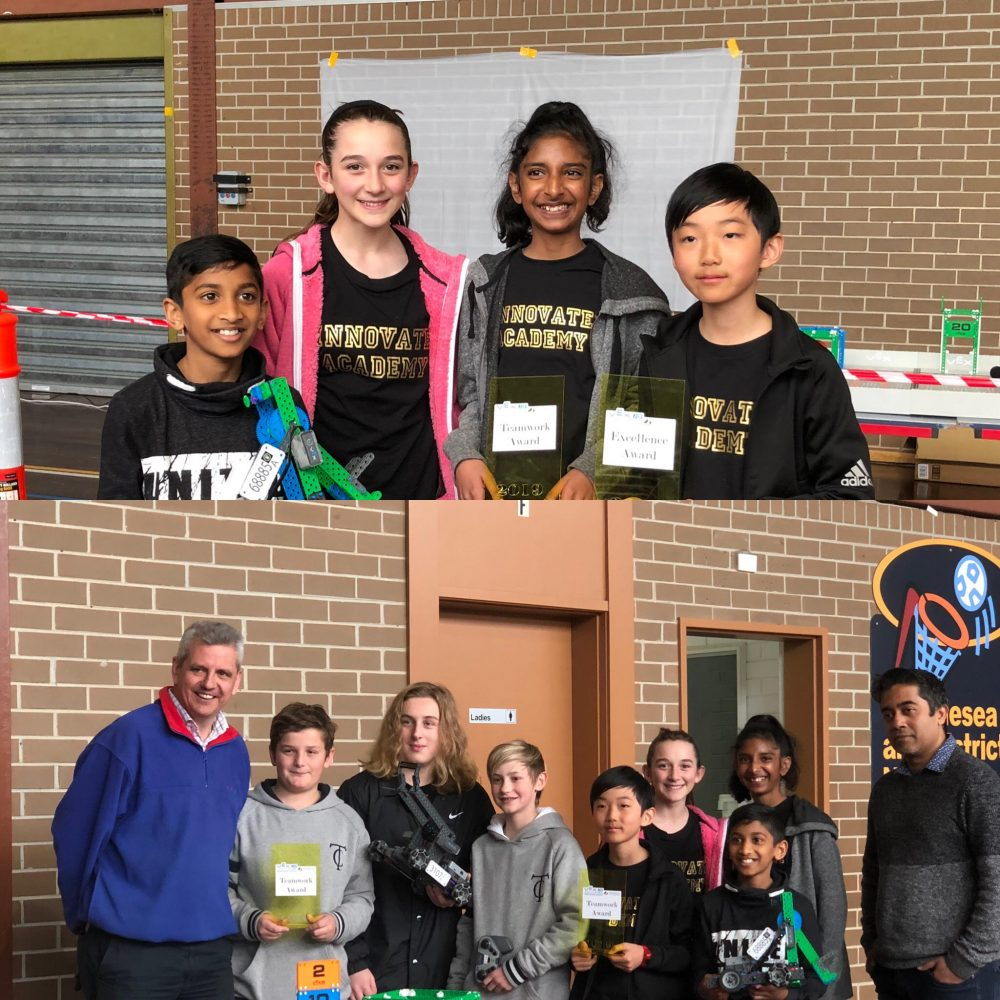 Innovate Academy VEX IQ Team 68885A at the VEX IQ Robotics Competition at Whittlesea Secondary College